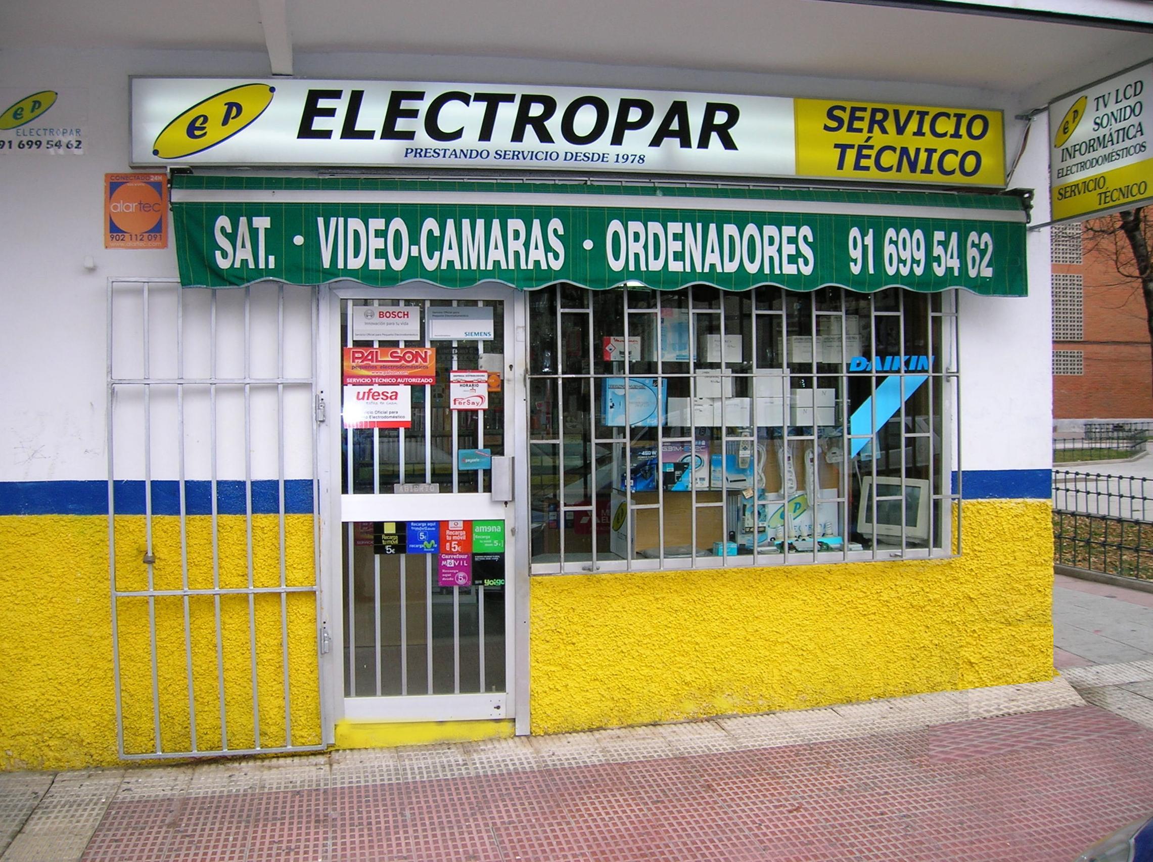 Foto 1 de Televisión, Vídeo y Sonido (reparación) en Parla | Electropar