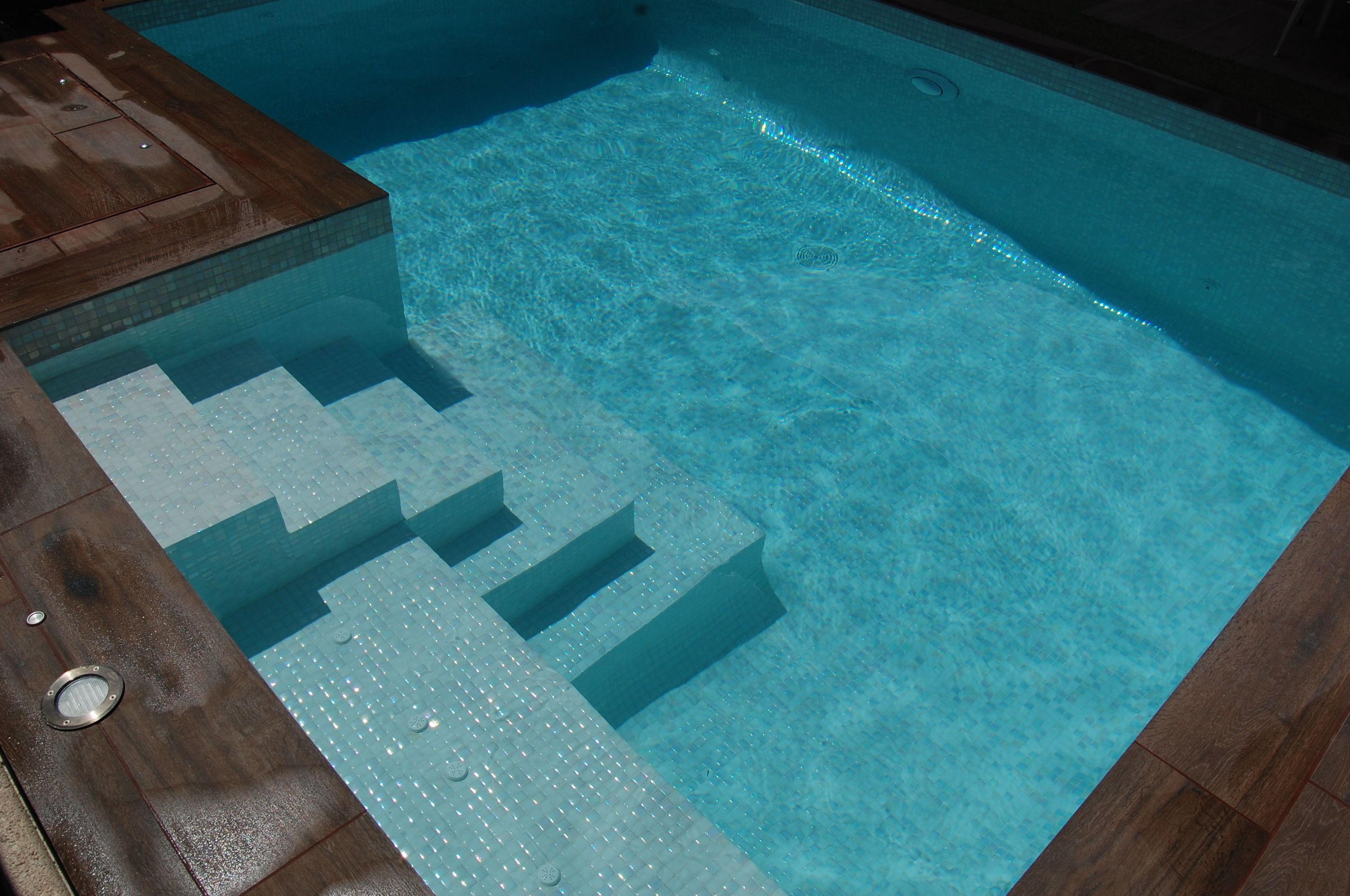 piscina de obra a medida en Madrid