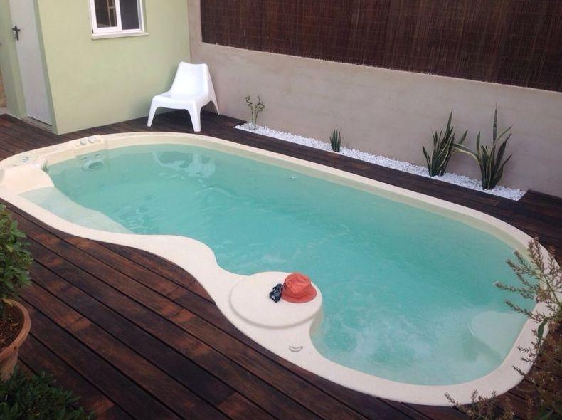 piscina de poliester Valencia