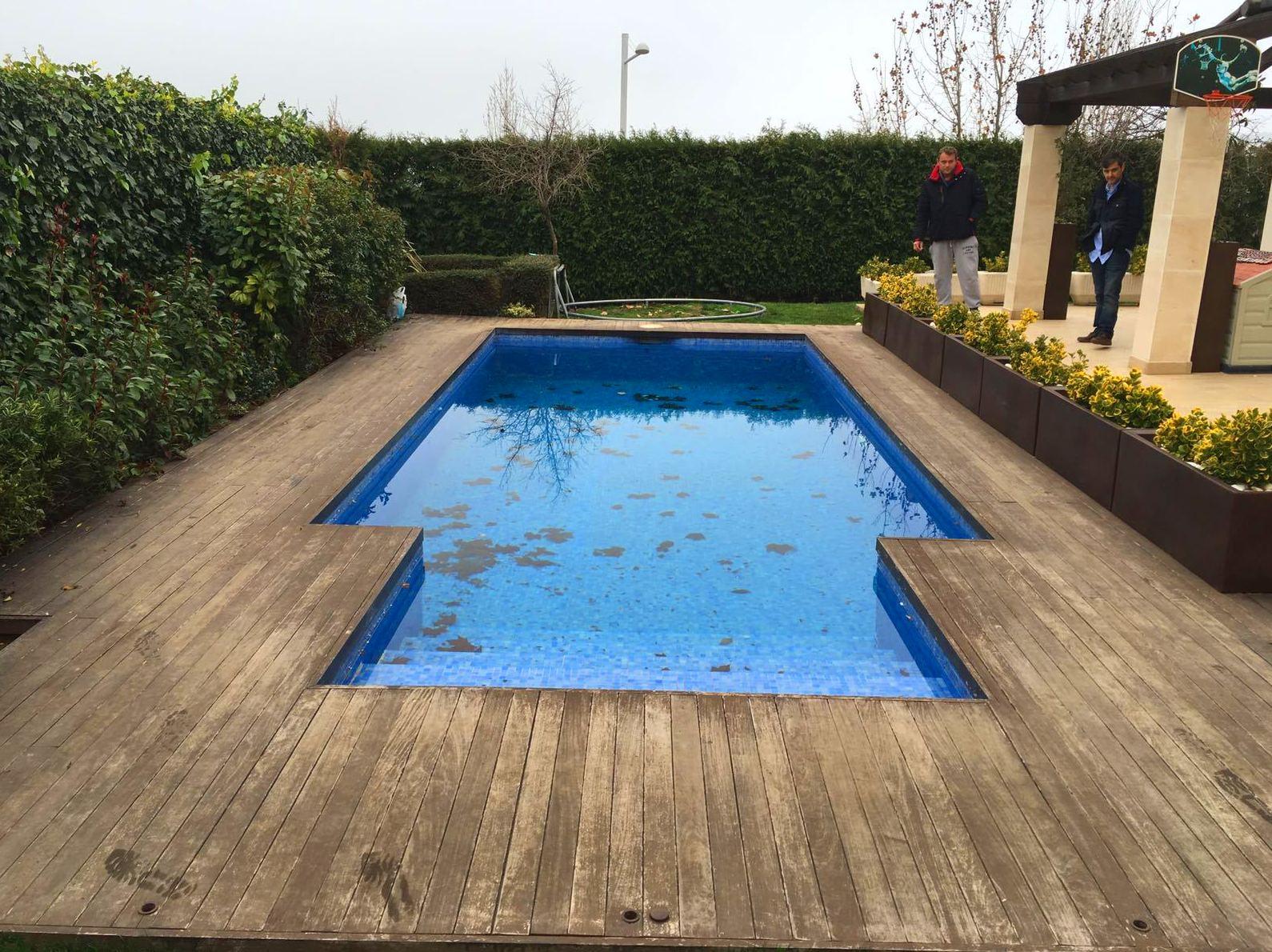 Reforma de piscina en Torrelodones