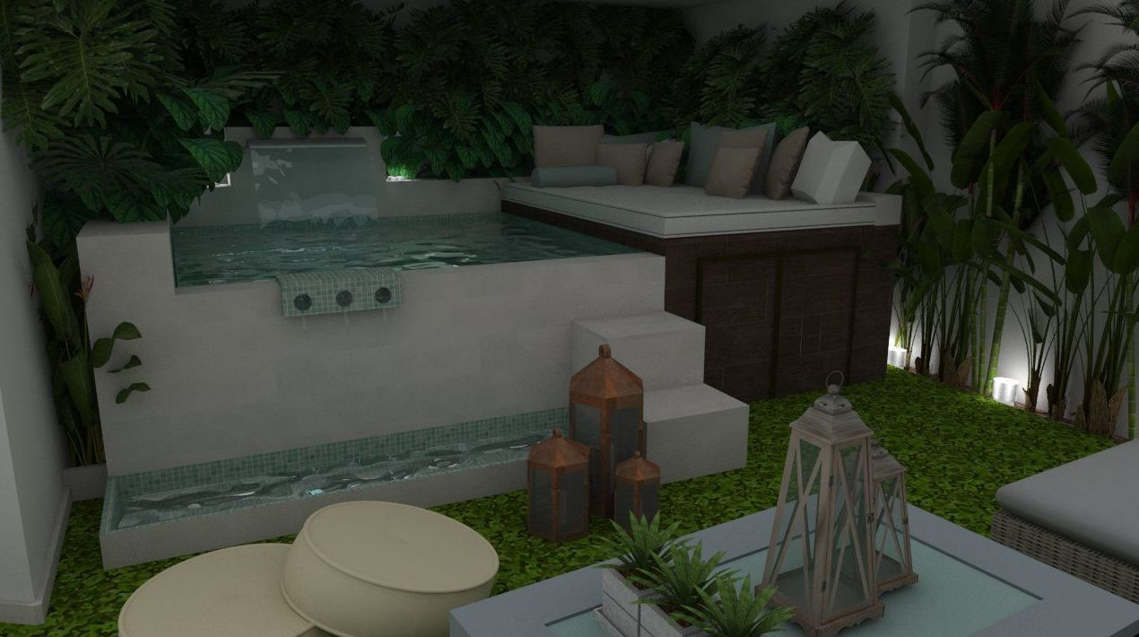 Dise o de jardines 3d piscinas y accesorios de ardigral - Diseno de jardines 3d ...