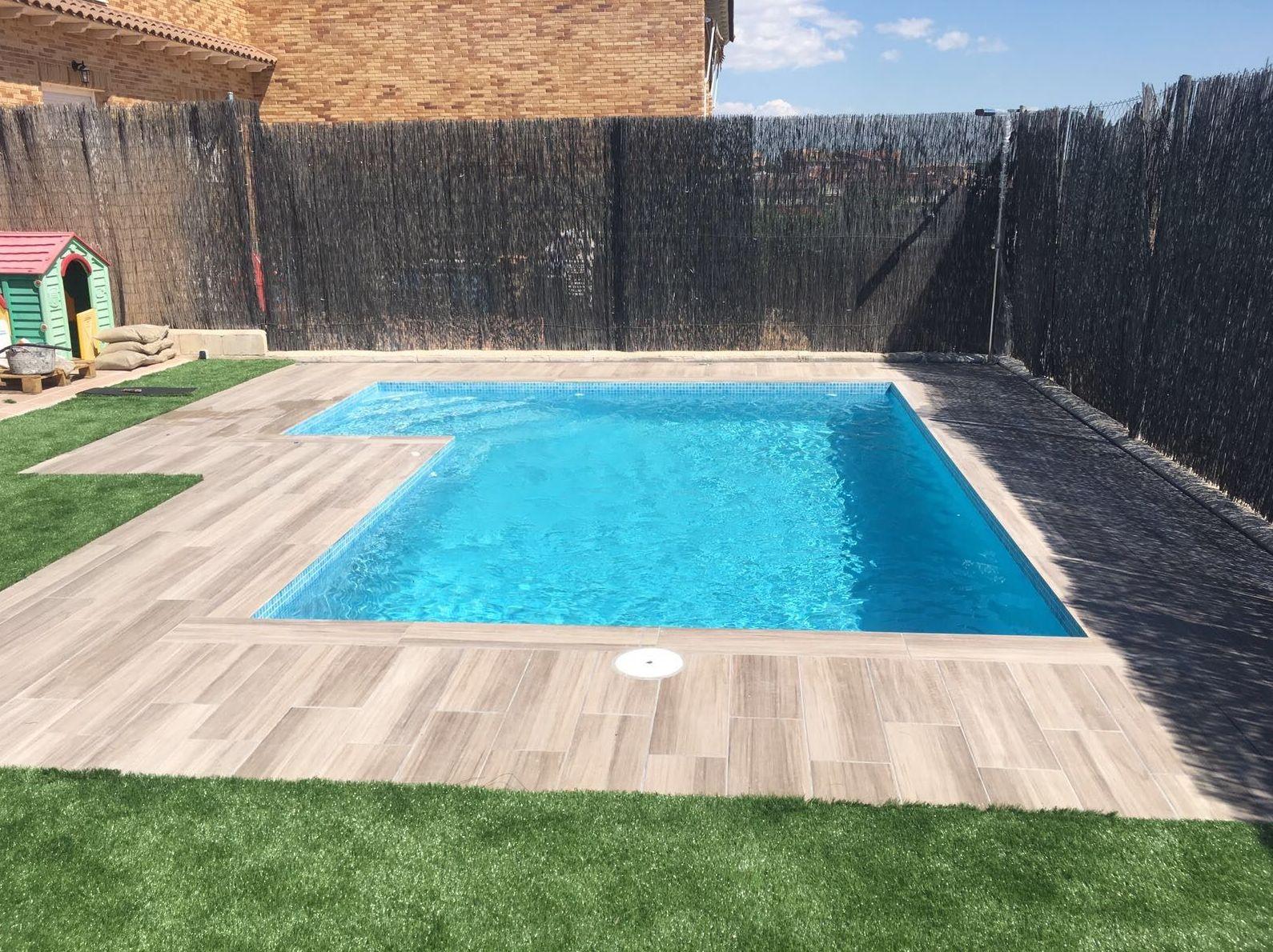 piscina de obra en el casar guadalajara