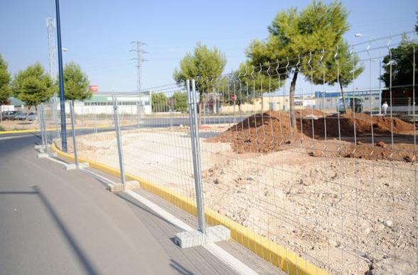 Vallas móviles: Cerramientos Portillo de Ferretería y Mallas Portillo