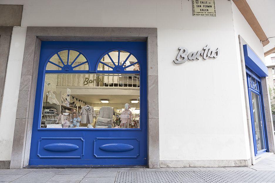 Boutique infantil Bartos en Pamplona