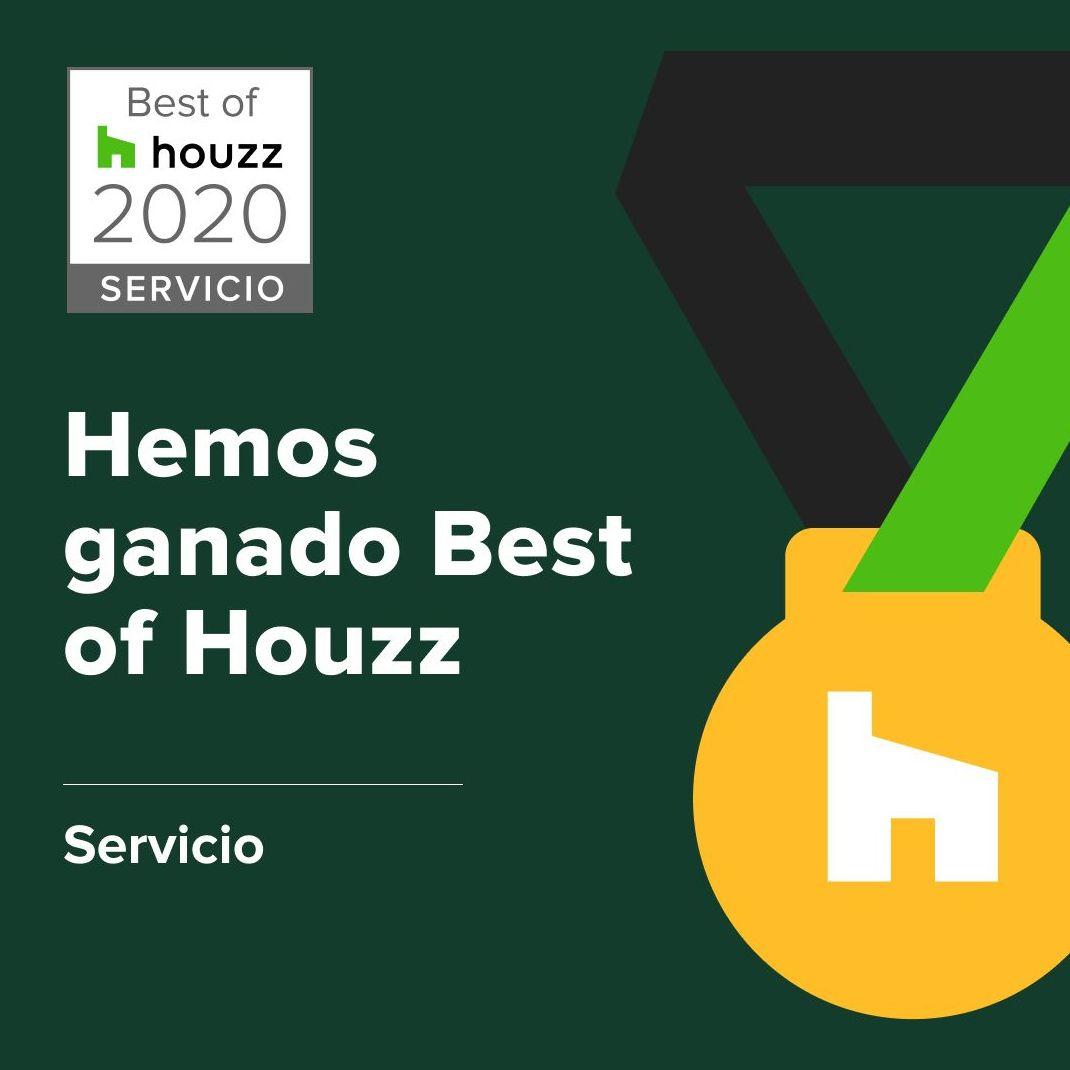 Premio Best Houzz Servicio