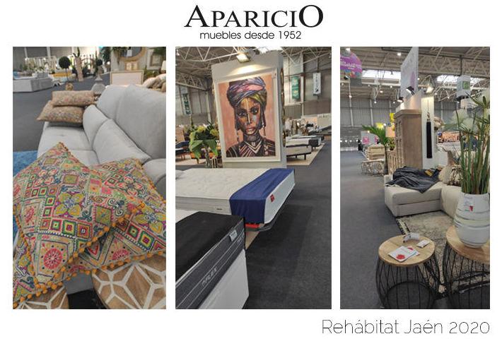 Muebles Aparicio en la III Edición de Rehábitat Jaén 2020