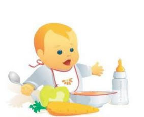 Menús bebes : Servicios de Escuela Infantil Chispitas