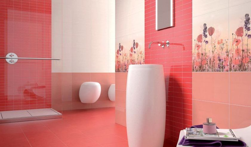 Gran variedad de azulejos para el baño