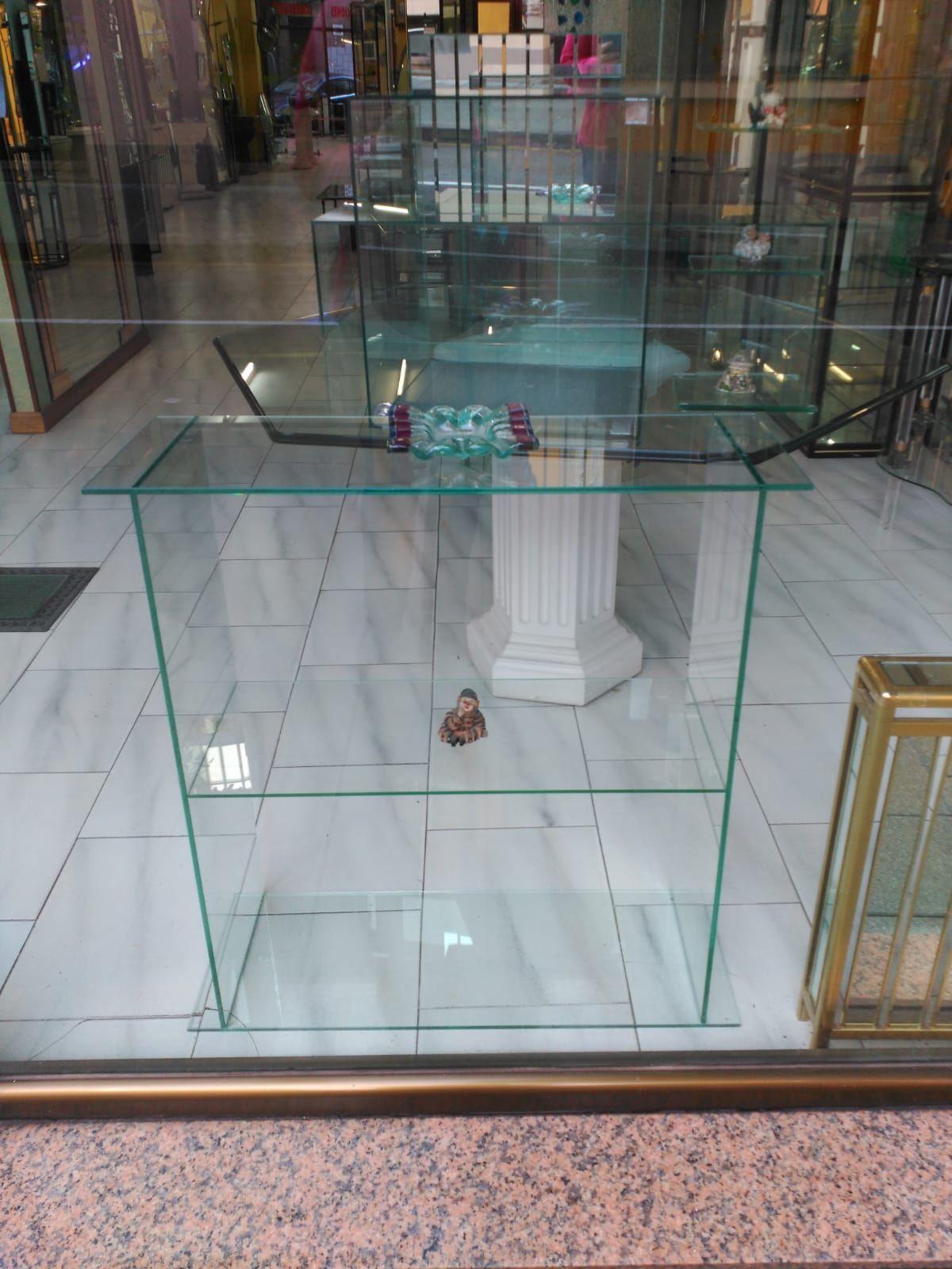 Elementos decorativos en cristal
