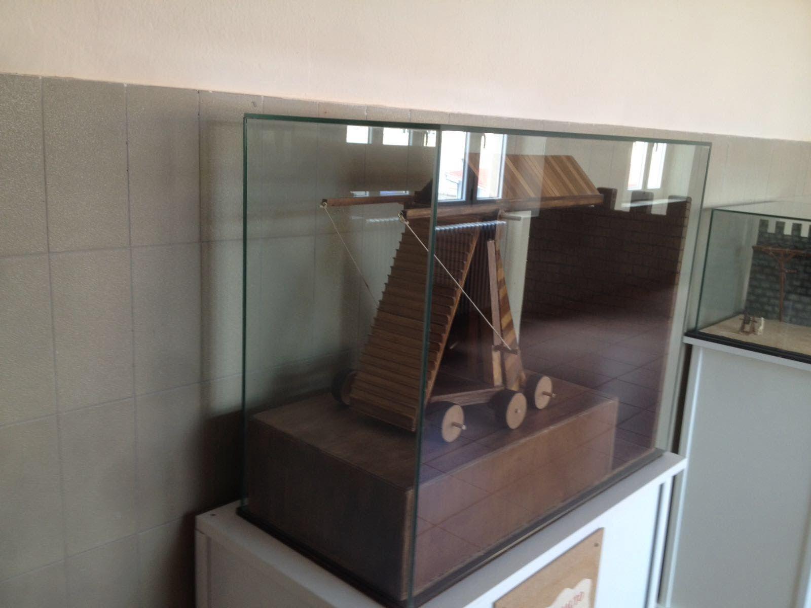 Trabajos en cristal para exposiciones