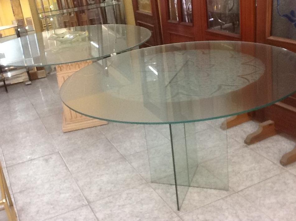 Mesas de cristal Asturias