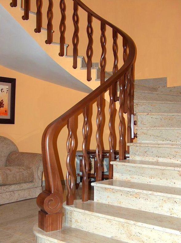 Barandillas para escaleras: Catálogo de Jv Car Carpintería