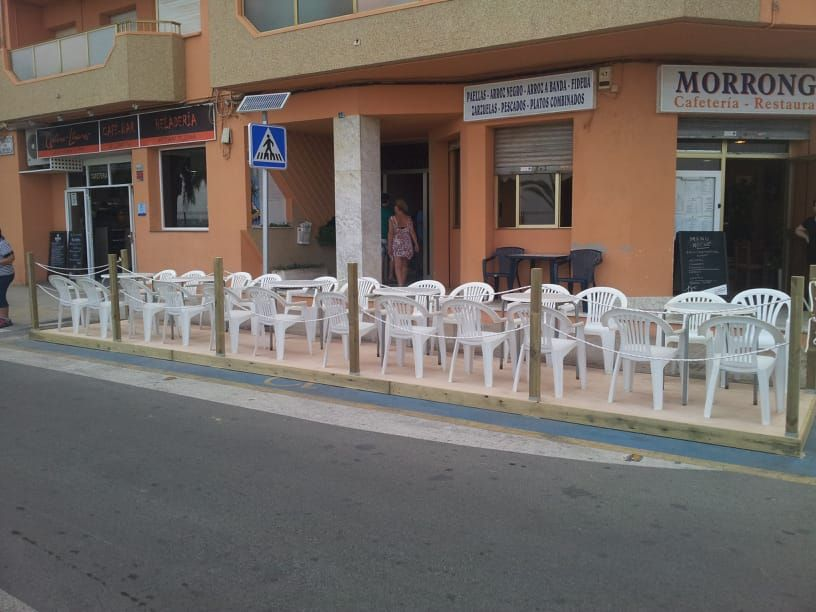 Reforma de terraza de bar