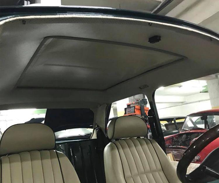 Tapicería del techo del automóvil