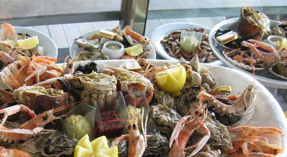 Casa Lázaro, marisco y pescado fresco