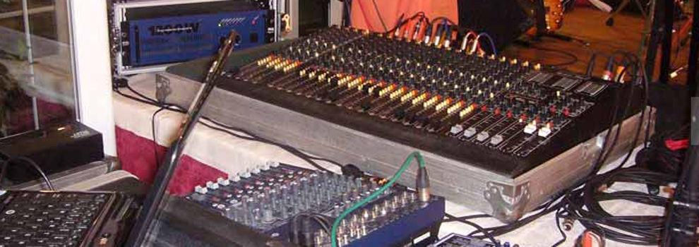 Equipos de sonido,iluminación y efectos especiales