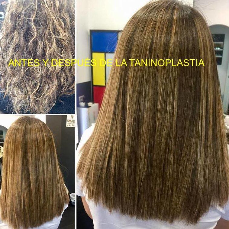 """""""¿Quieres olvidarte de la plancha, preparar tu cabello para el verano .. tratar profundamente la fibra? """" Taninoplastia alisado  Diagnóstico gratuito y asesoramiento personalizado. Os esperamos .."""