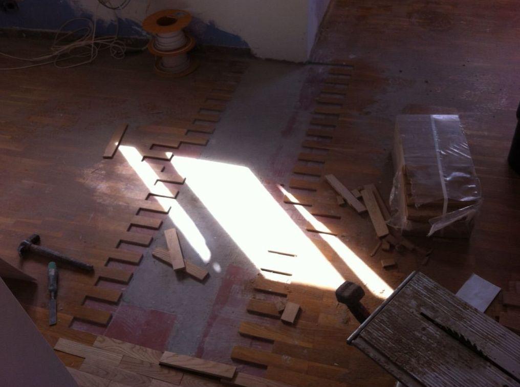 Asturias , reparar y barnizar.