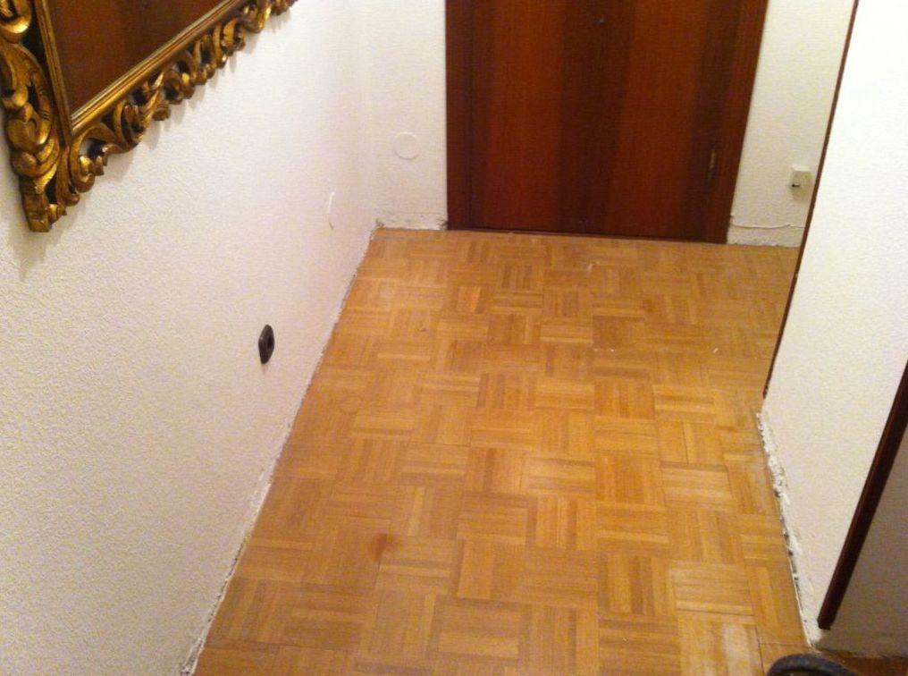 Asturias, suelo para barnizar.