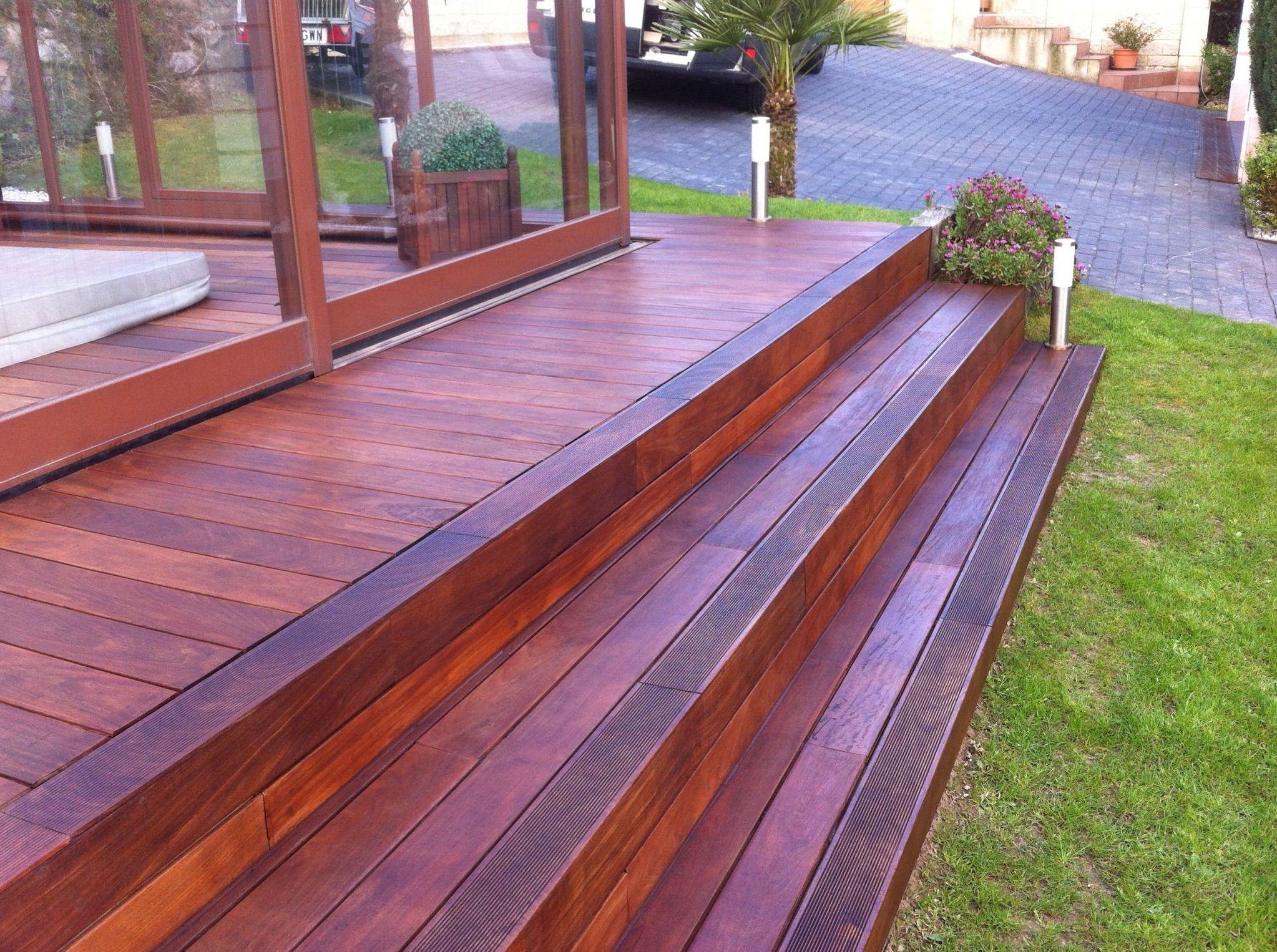Suelos de madera para exterior
