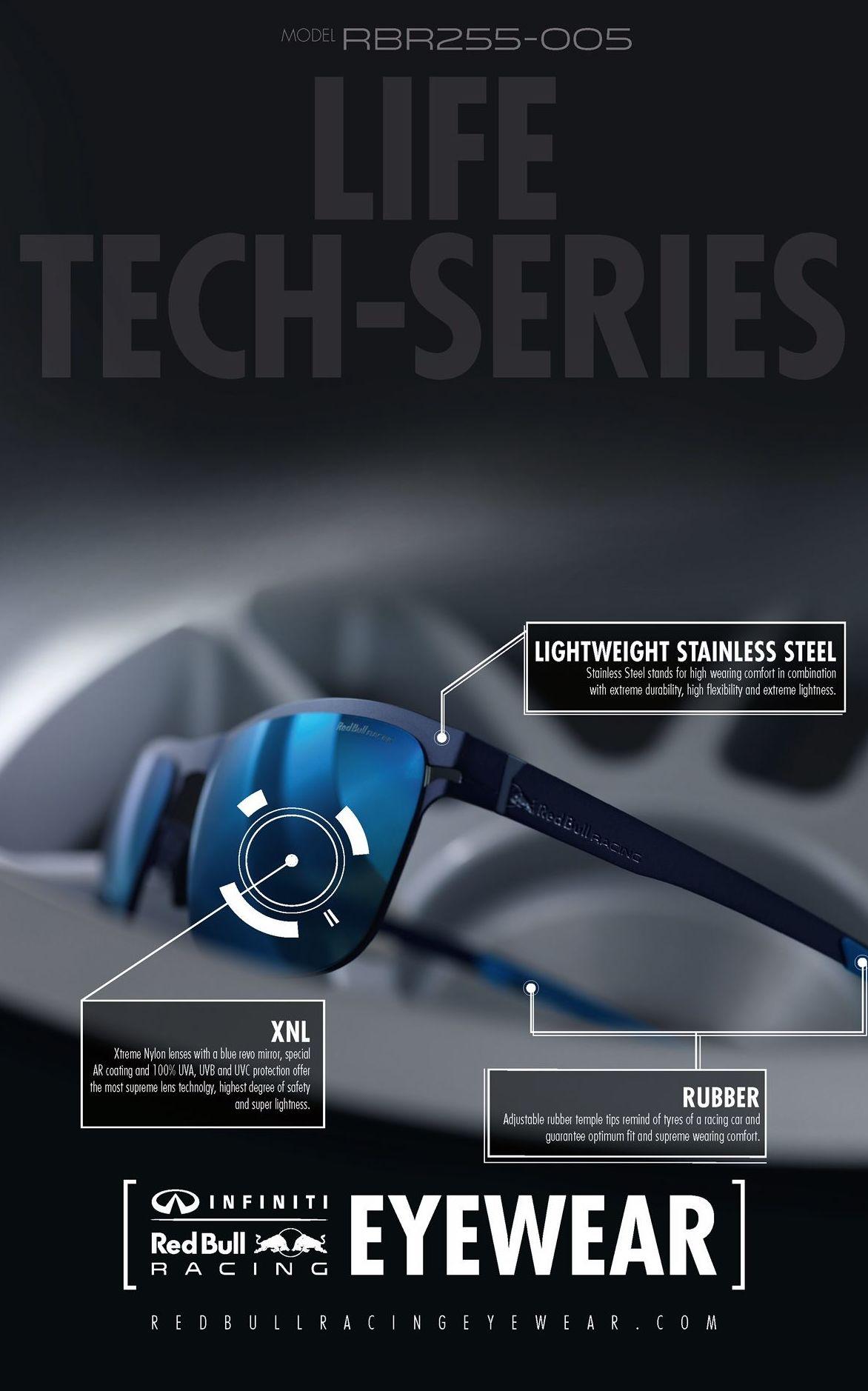 Colección de gafas Red Bull Life Tech Series