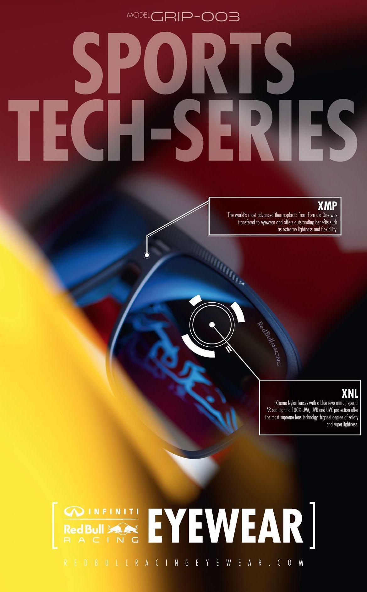 Colección de gafas Red Bull Sports Tech Series
