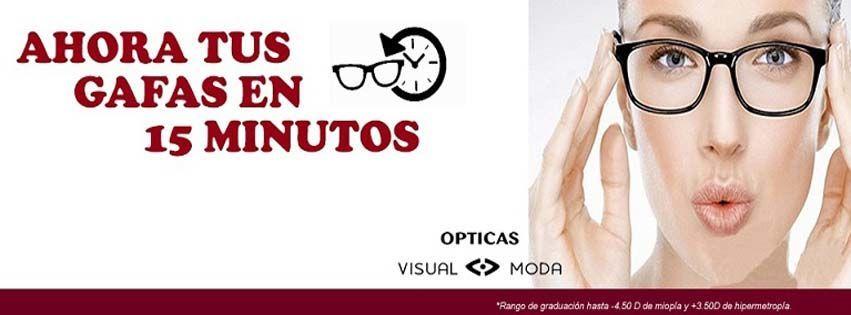 Tus gafas en 15 minutos
