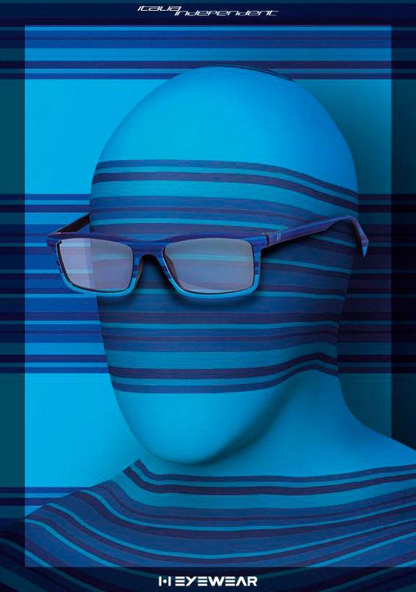 Nueva colección de gafas I•I EYEWEAR de Italia Independent en Óptica Visual Moda, Valencia