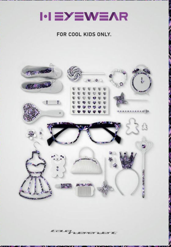 Nueva colección de monturas de gafas para niñas