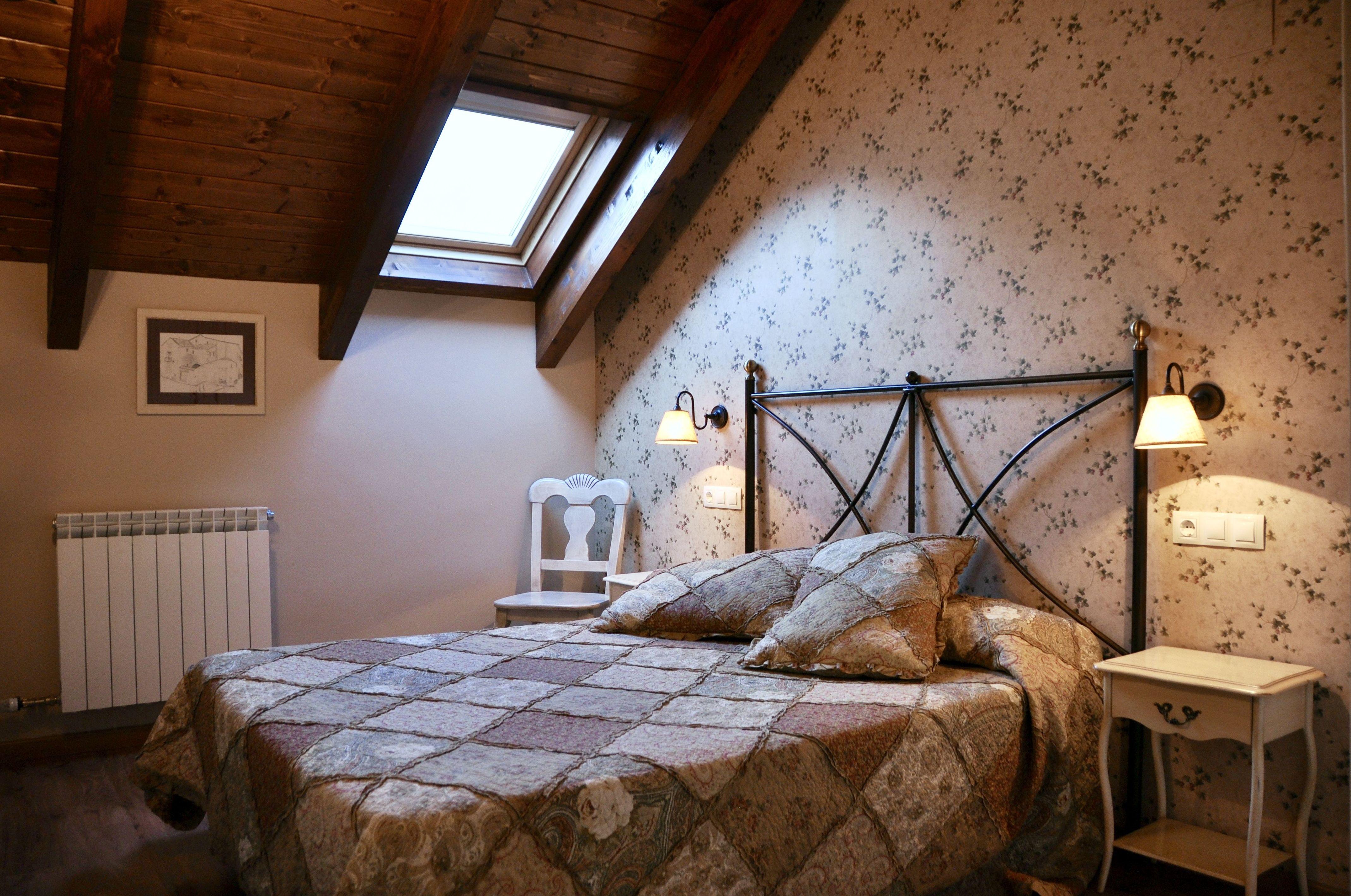 Dormitorio apartamento Bujaruelo.