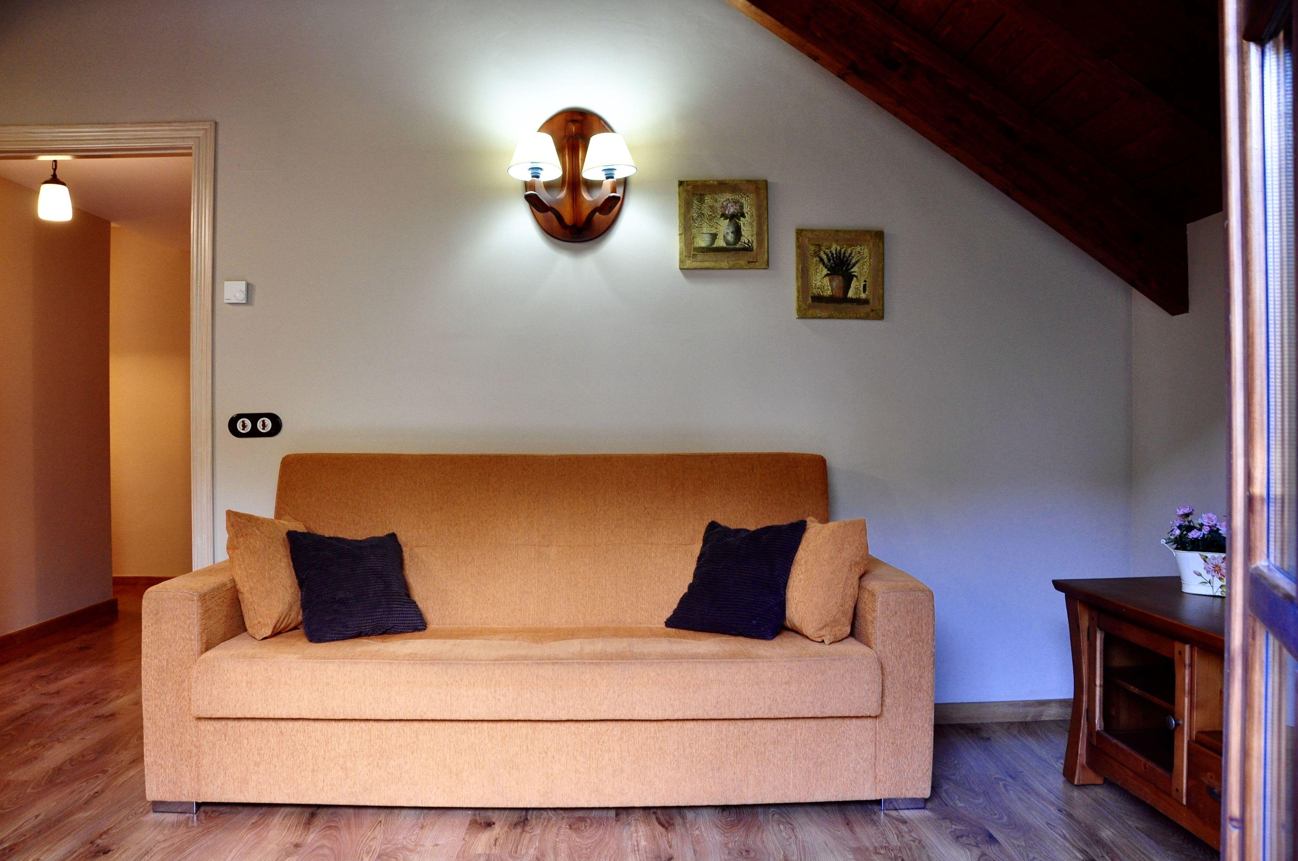 detalle salón de estar apartamento