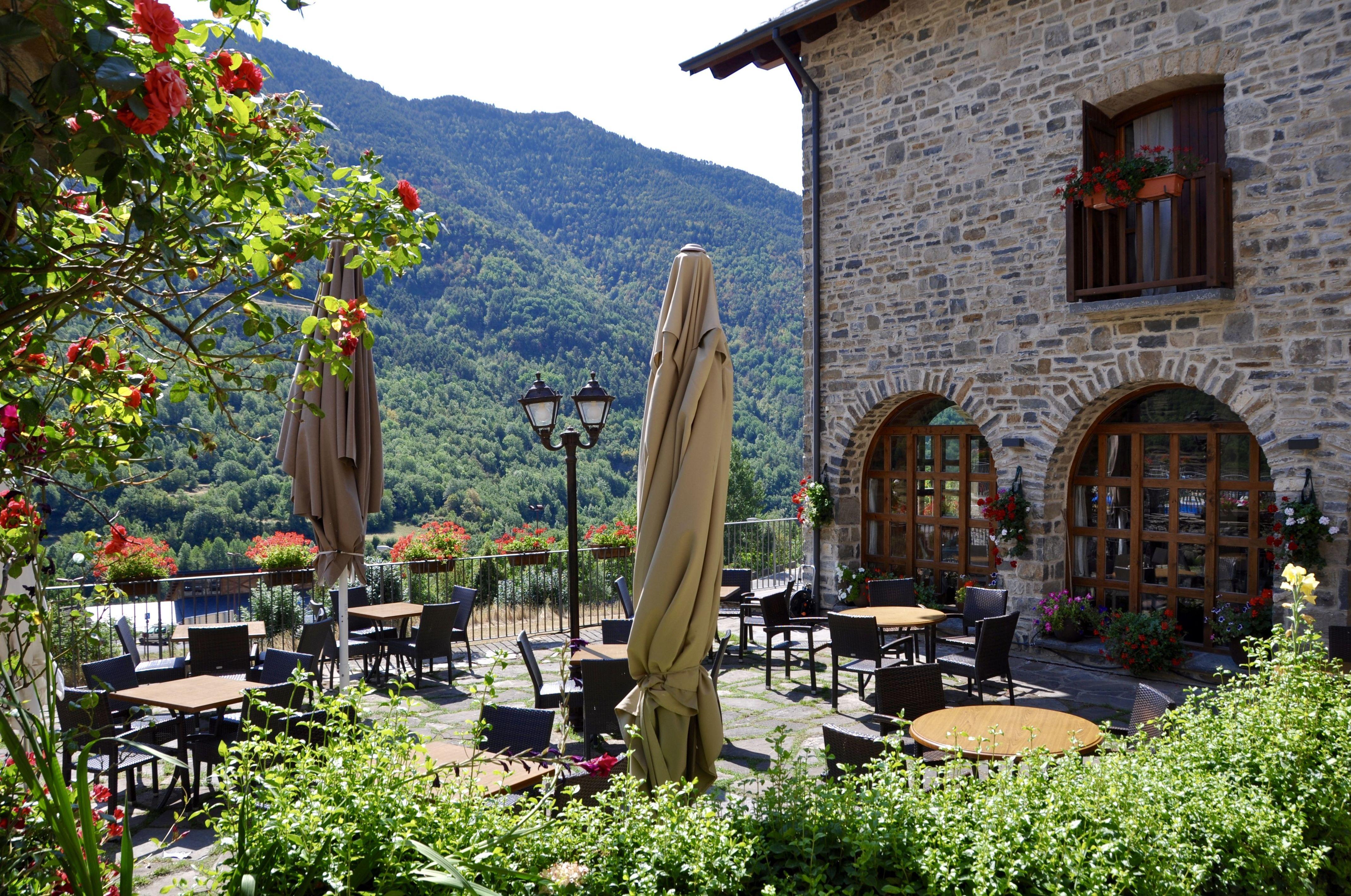 Terraza restaurante La Cocinilla.