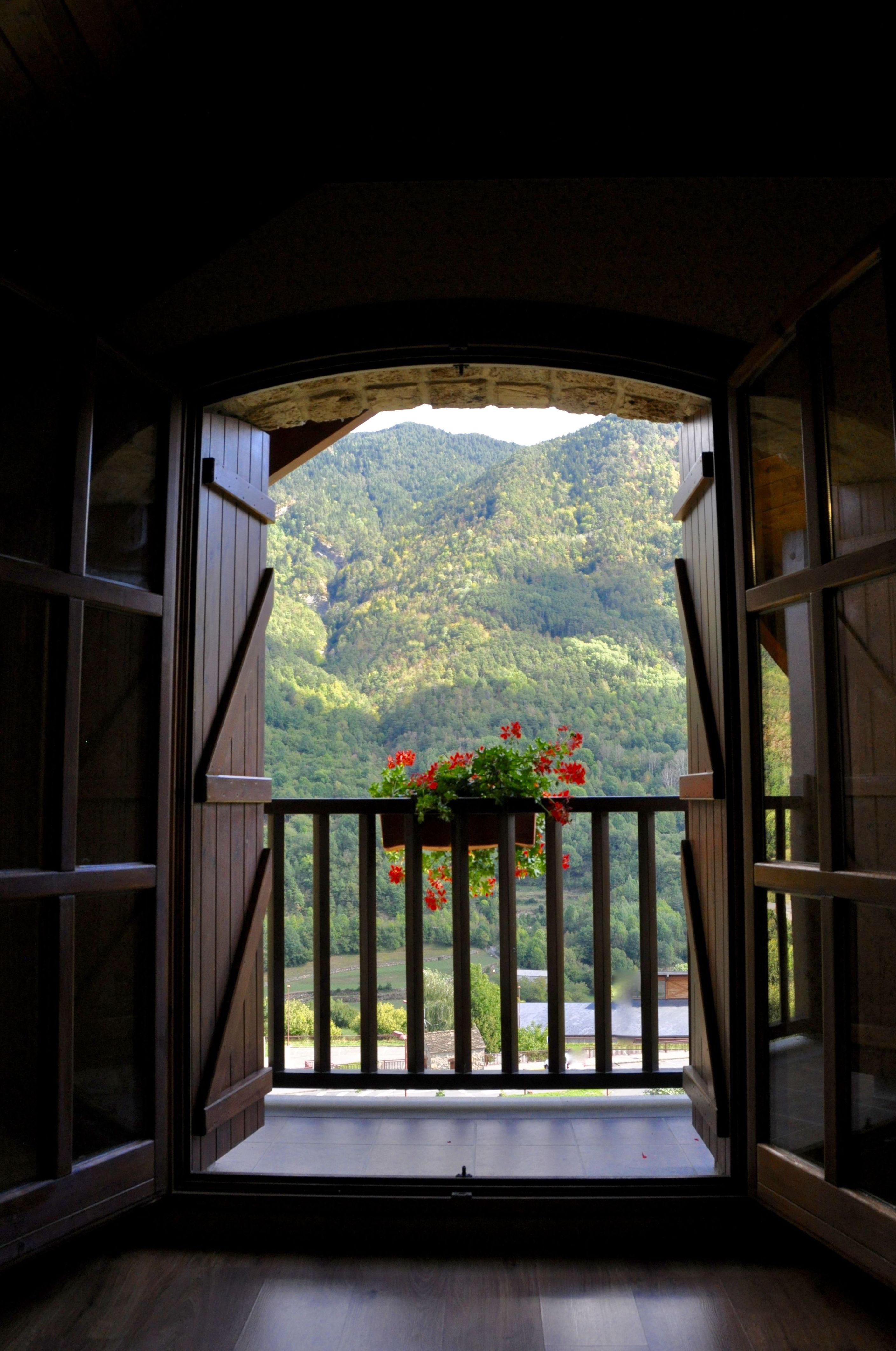 Vistas desde el salón del apartamento Ordesa.