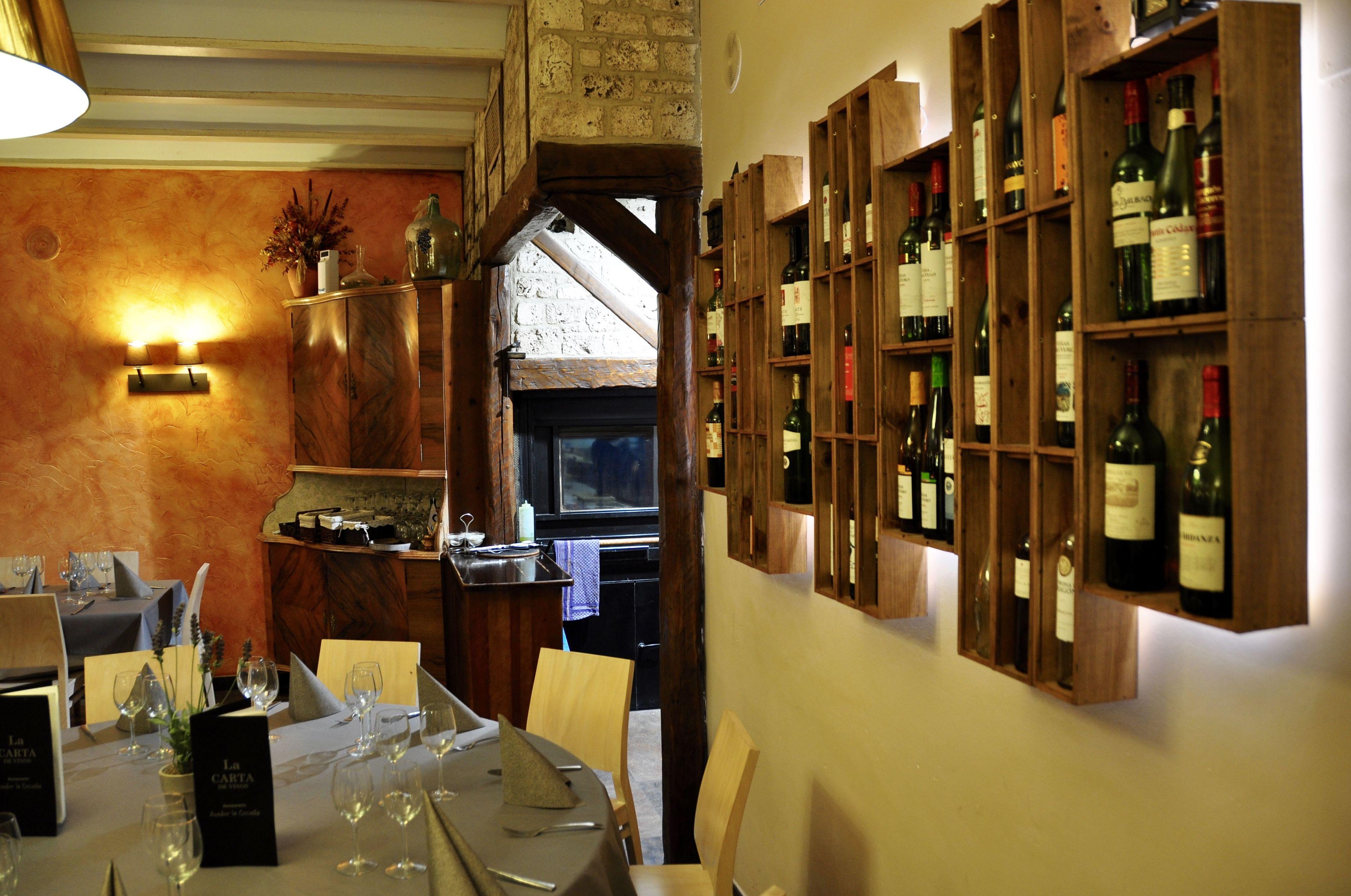 Mural bodega restaurante La Cocinilla.