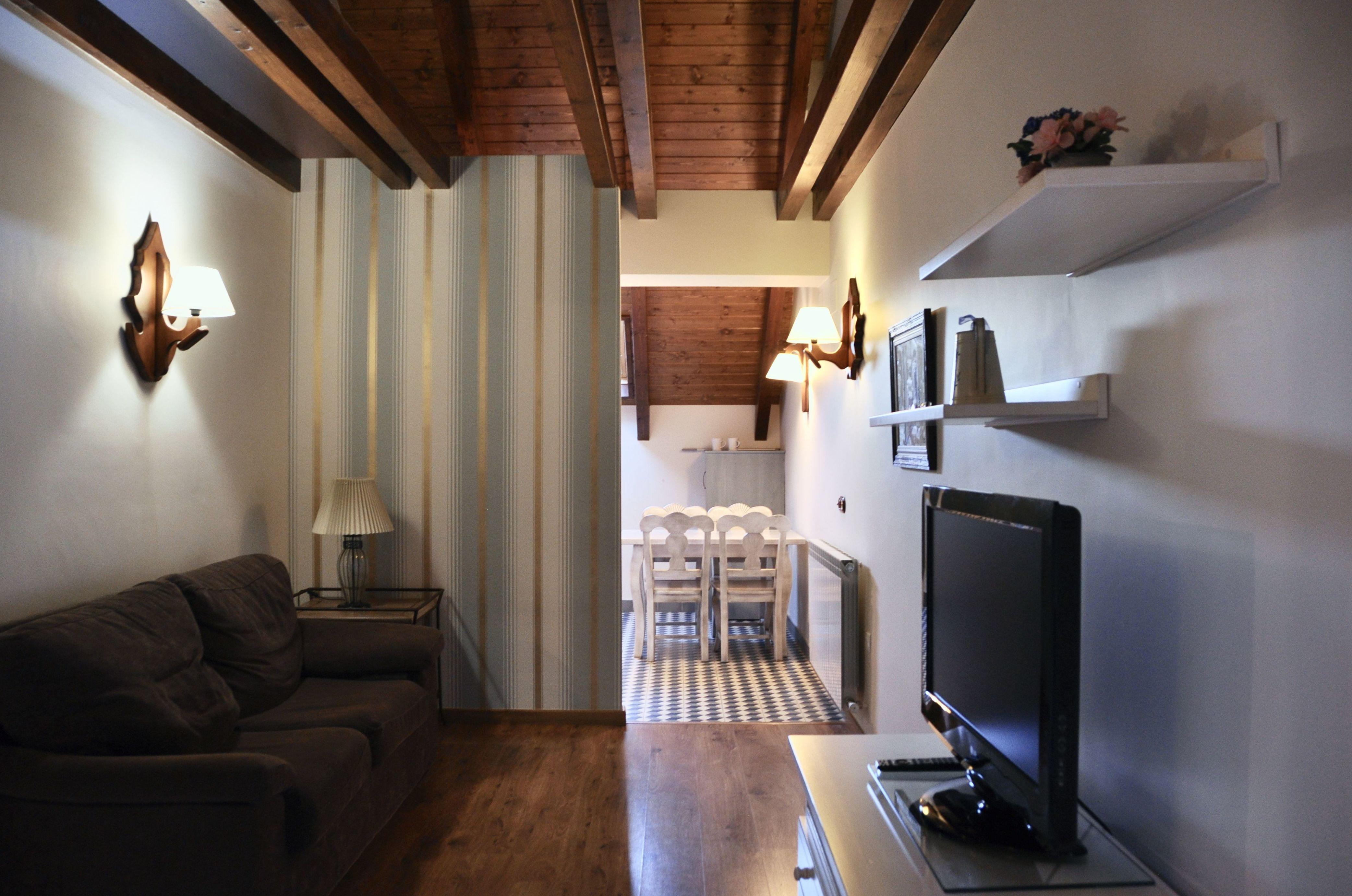Salón apartamento Bujaruelo.