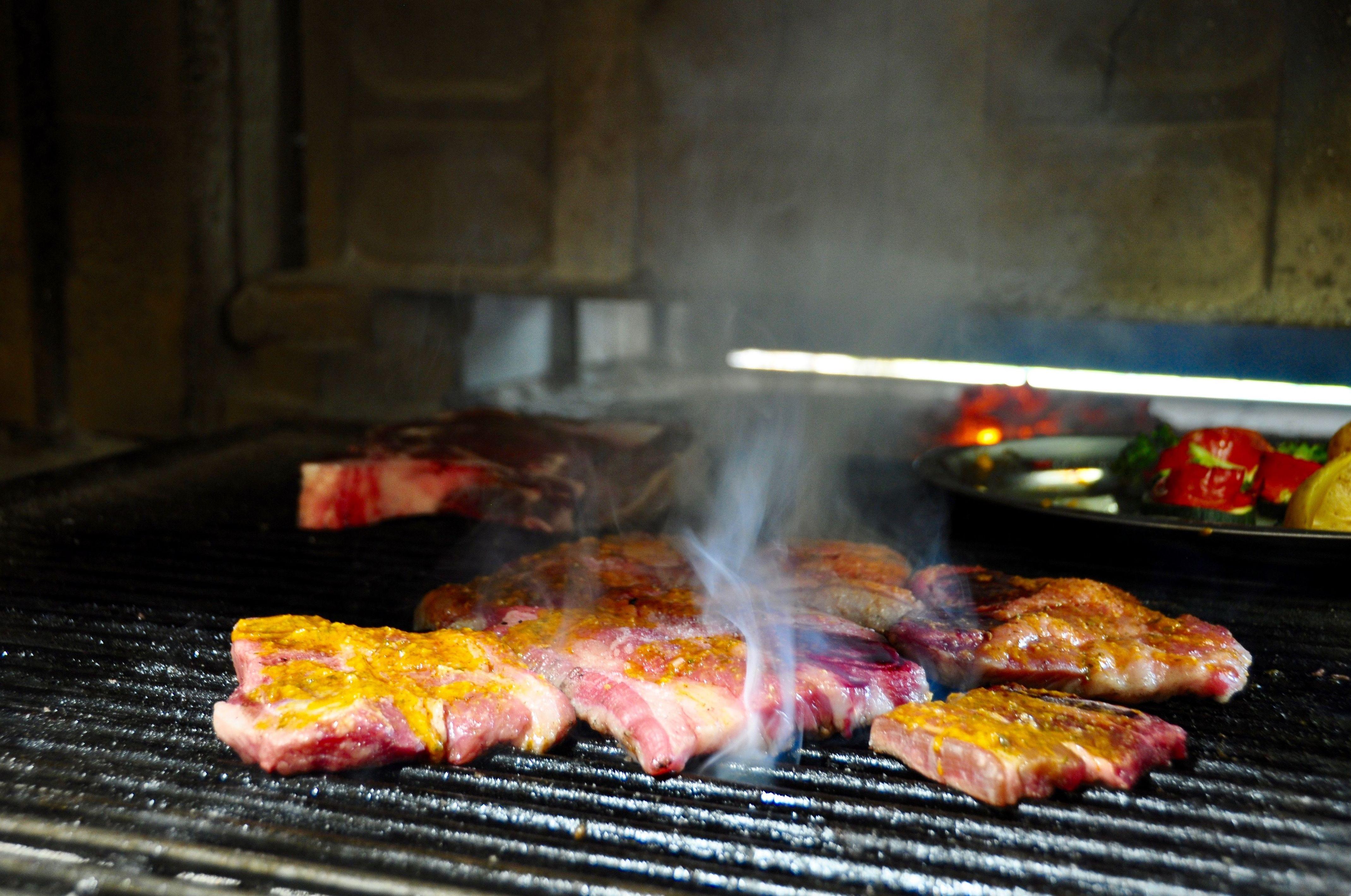 Carne de ternera gallega a la brasa