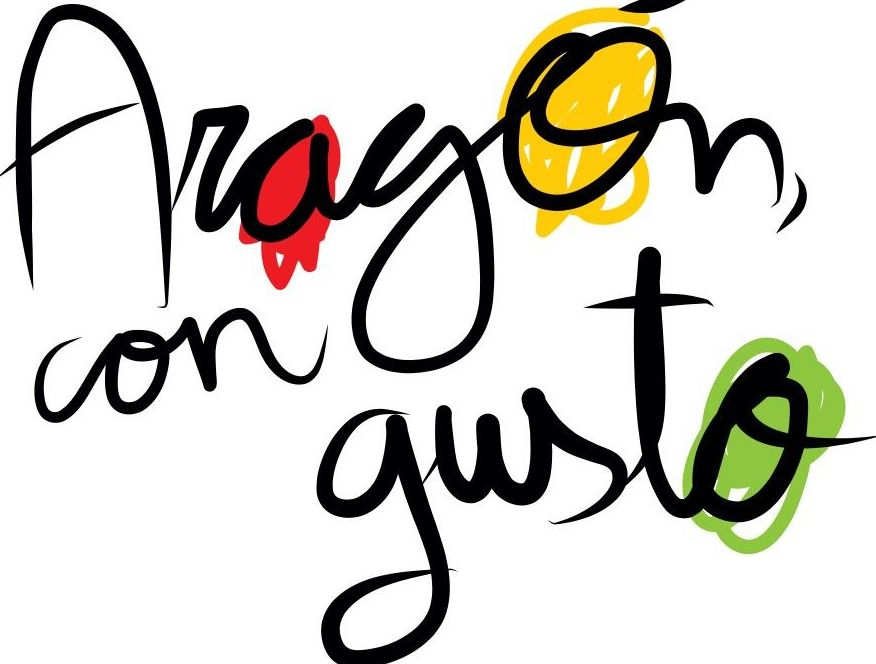Cartel Aragón con Gusto