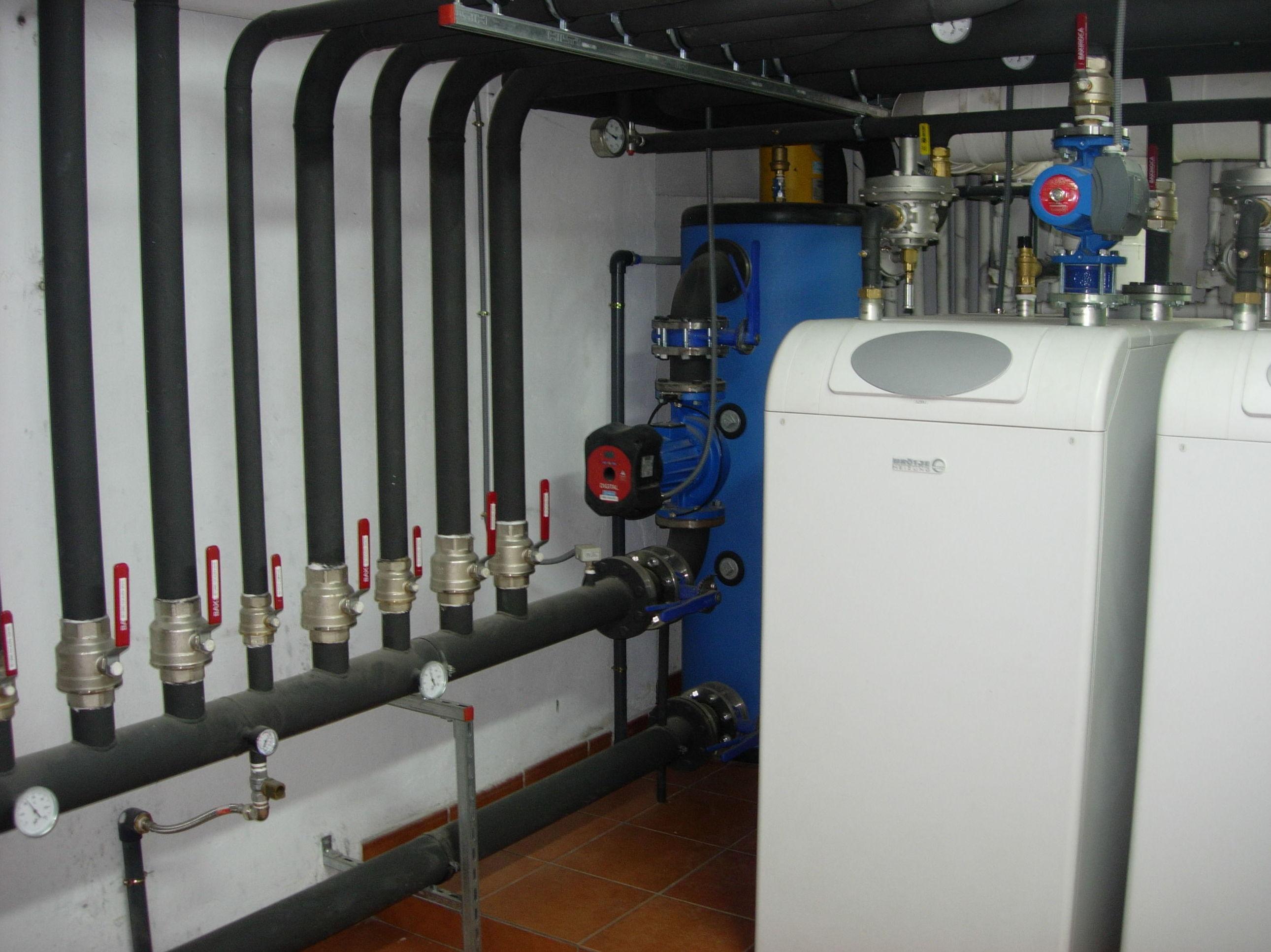 Salas de calderas y mantenimientos