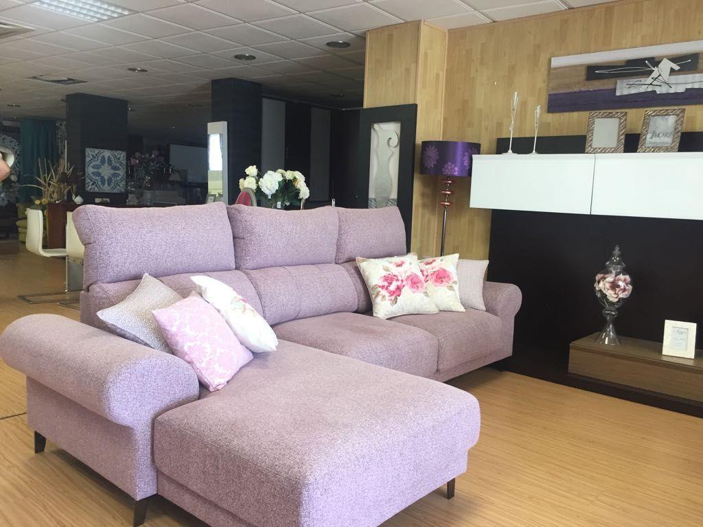 Telas para el tapizado de sofás en Murcia