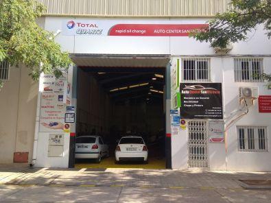 Taller de automóviles en San Vicent del Raspeig