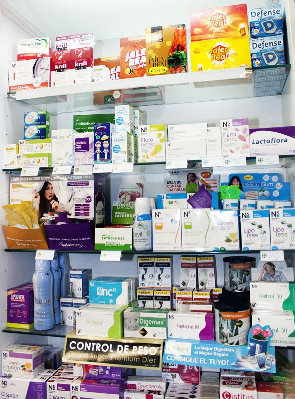 Productos de parafarmacia en Tui