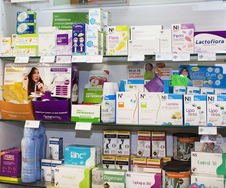 Farmacia especializada en productos de parafarmacia en Tui