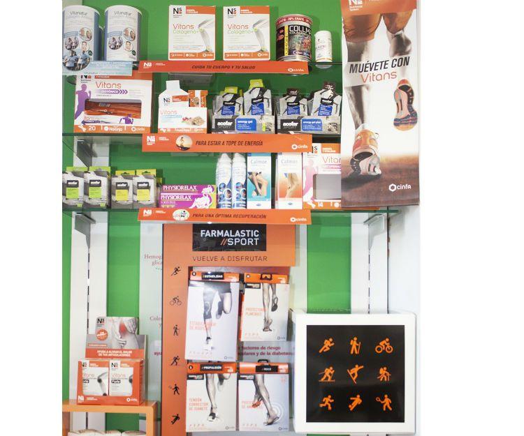 Productos para deportistas en Tui