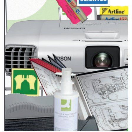 Presentación y señalización: Catálogo de productos de TINTARED PLUS ZARAGOZA