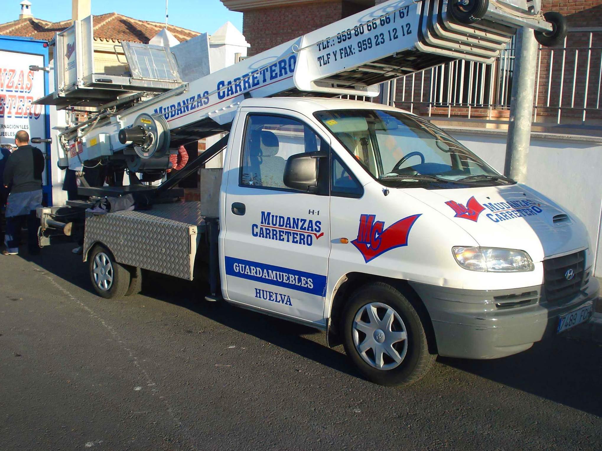 Vehículos: Servicios de Mudanzas Carretero