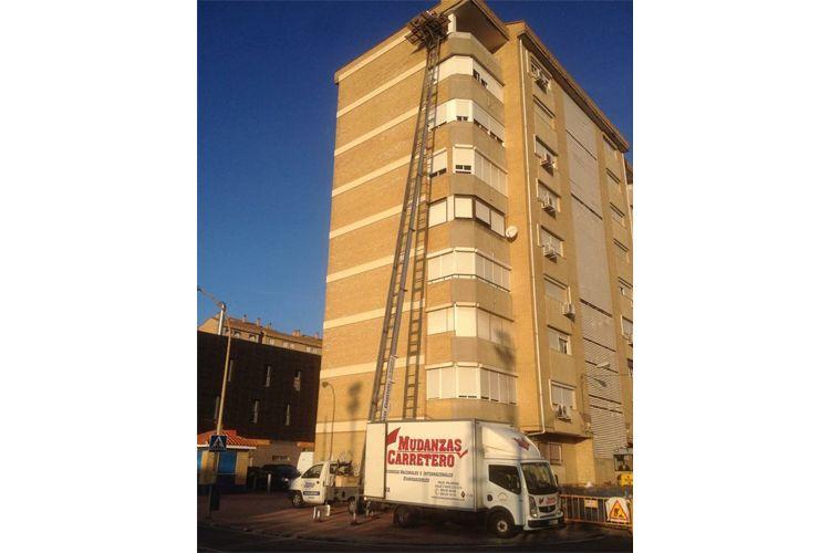 Mudanzas con elevador en Huelva