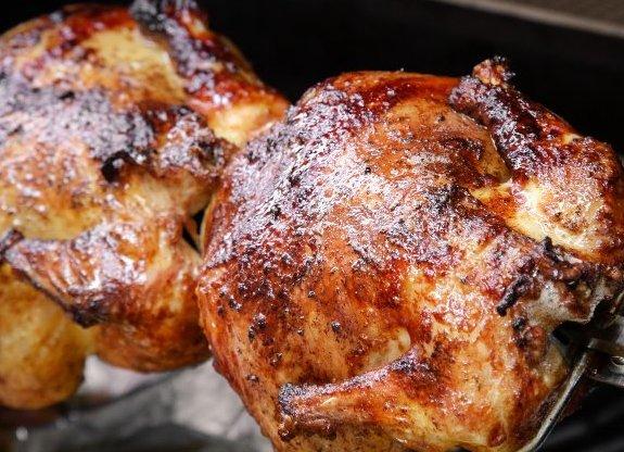 Pollos a'last: Especialidades de Bar Granja La Clavina