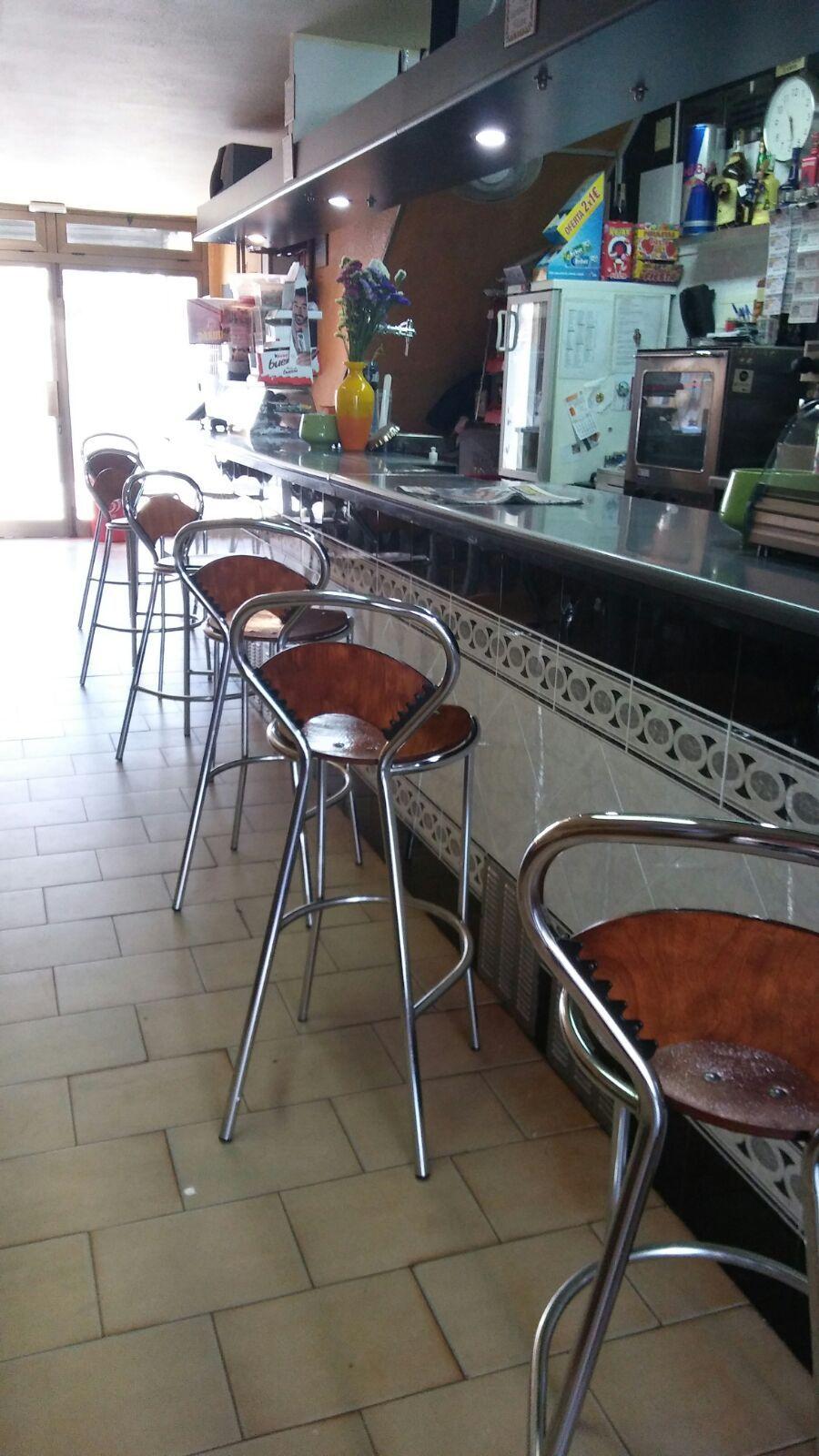 Barra de nuestro bar