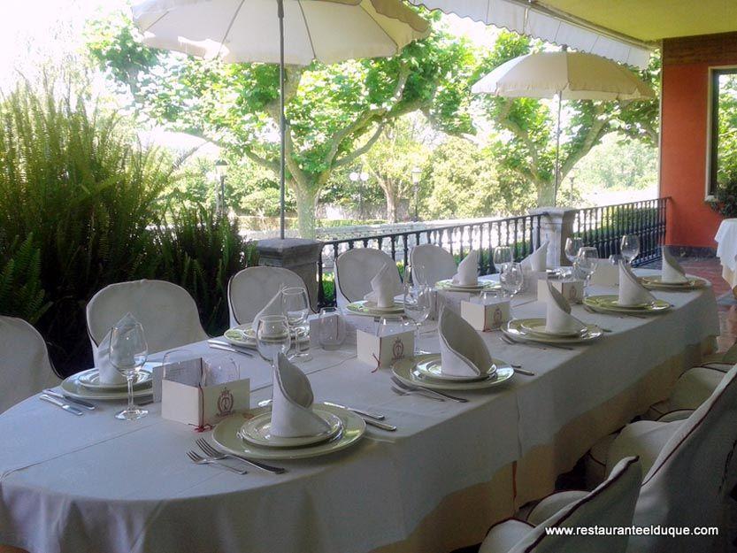 Restaurante para celebración de bodas en Gijón
