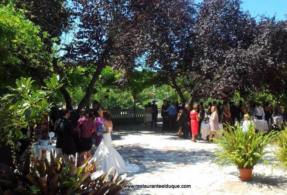 Restaurante para bodas con jardín en Gijón
